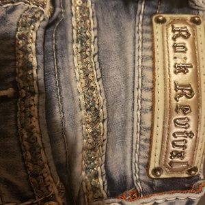 Rock Revival Jean's- Size 25